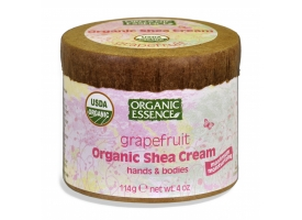 Organic  Shea Cream-Grapefruit