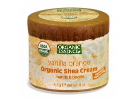 Organic  Shea Cream-3)	Vanilla Orange